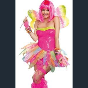 Rainbow Fairy Sexy Fantasy Fairy Costume